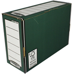 Bankers Box Bankers Box by Fellowes Premium Transfer File Green and White Ref 00060-FFSP1 [Pack 10]