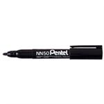 Pentel NN50 permanent marker Black Bullet tip 12 pc(s)