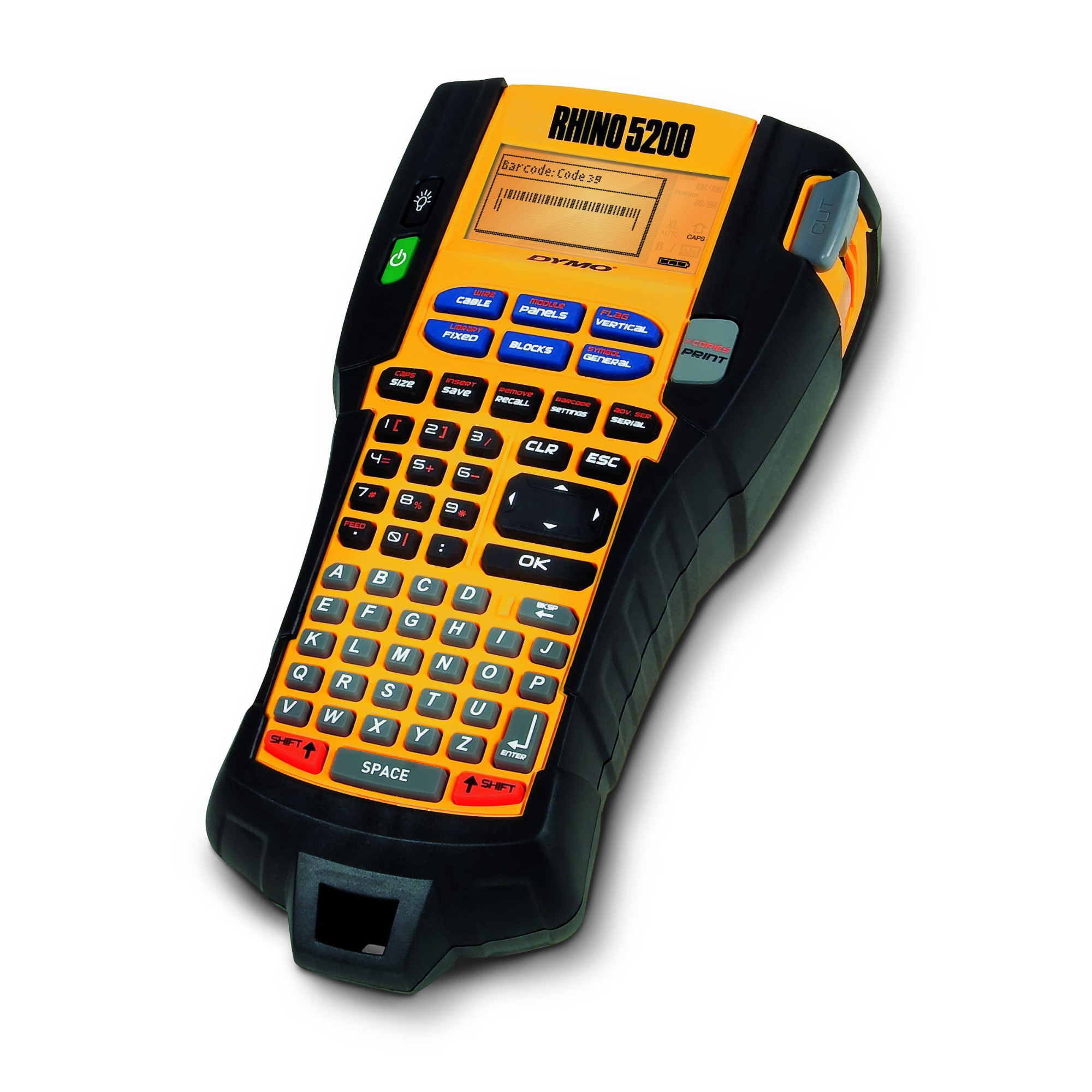 DYMO RHINO 5200 Kit Thermal transfer 180 x 180DPI label printer