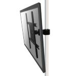 "Newstar Monitor Mount for mounting on poles (diameter 35-60 mm) for single 10""-55"" Screen - Black"