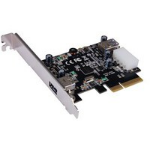 ST Lab PCIe x 4, USB 3.1-C  Card