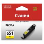 CANON CLI651Y INKJET CARTRIDGE YELLOW
