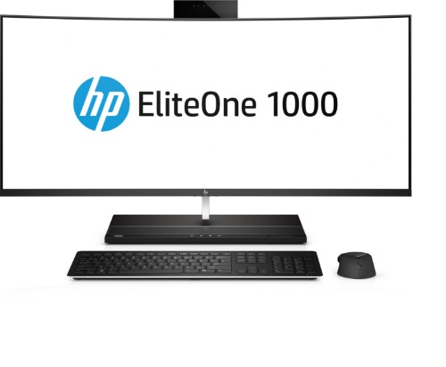 HP EliteOne 1000 G1 34-in Curved All-in-One Business PC