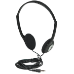 Manhattan Stereo Headphones Head-band Black