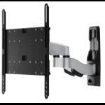 "Amer AMRWEX430 flat panel wall mount 190.5 cm (75"") Black,Stainless steel"