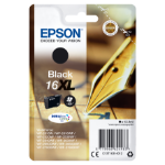 Epson C13T16314012 (16XL) Ink cartridge black, 500 pages, 13ml
