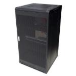 LinkBasic 22U 600mm Depth Server Rack Mesh Door with 2x240v Fans and 8-Port 10A PDU