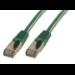 MCL RJ45 CAT 6 A F/UTP LSZH 5m cable de red Verde