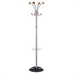 Alba FF ALBA VIENNA COAT STAND METAL AND WOOD
