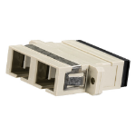 Cablenet SC Duplex MM Coupler Beige