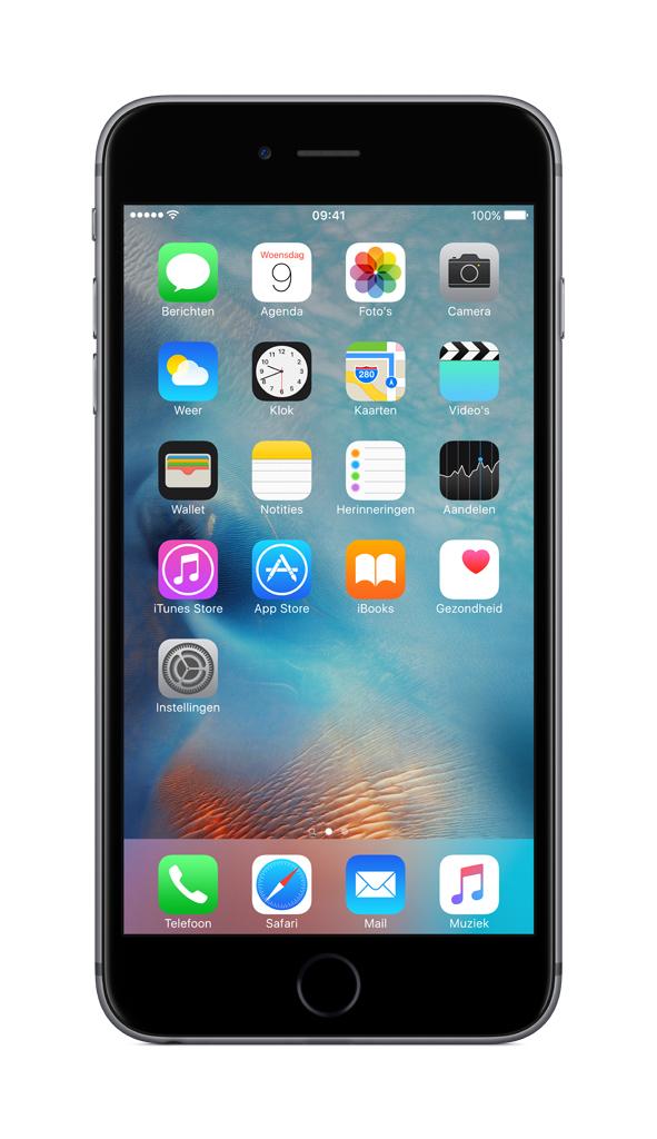 Apple iPhone 6s Plus Single SIM 4G 128GB Grey smartphone