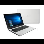 "ASUS X553SA-XX208T 1.6GHz N3700 15.6"" 1366 x 768pixels White Notebook"