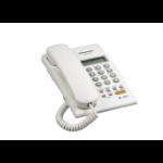 Panasonic KX-T7705X Analog telephone Identificador de llamadas Blanco teléfono dir