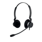 Jabra BIZ 2300 QD Duo Binaural Head-band Black headset 2309-820-104