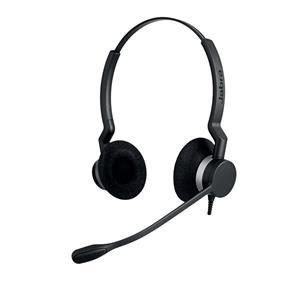 Jabra BIZ 2300 QD Duo Binaural Head-band Black headset 2309-820-104