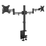 "Lindy 40966 flat panel desk mount 76.2 cm (30"") Clamp Black"