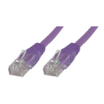 Microconnect B-UTP6015P 1.5m Cat6 U/UTP (UTP) Purple networking cable