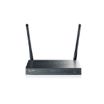 TP-LINK TL-ER604W Gigabit Ethernet Black wireless router