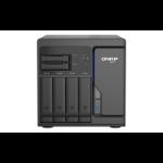 QNAP TS-H686-D1602-8G/24TB-EXOS NAS/storage server Tower Ethernet LAN Black D-1602