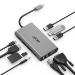 Acer HP.DSCAB.002 hub de interfaz USB 3.2 Gen 1 (3.1 Gen 1) Type-C 5000 Mbit/s Plata