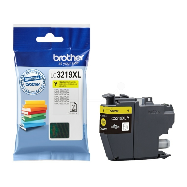 Brother LC-3219XLY Ink cartridge yellow, 1.5K pages