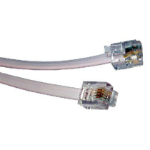 Cables Direct 20m RJ11 Modem Cable telephony cable Grey