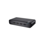 Belkin F1DN104W-3EA Black KVM switch