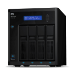 Western Digital My Cloud Pro My Cloud EX4100 NAS Desktop Eingebauter Ethernet-Anschluss Schwarz Armada 388