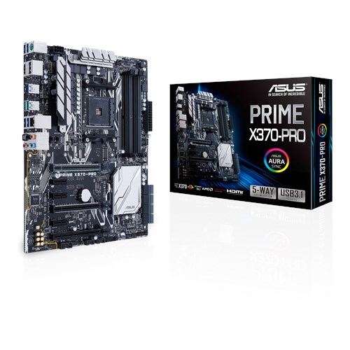ASUS PRIME X370-PRO motherboard Socket AM4 ATX AMD X370