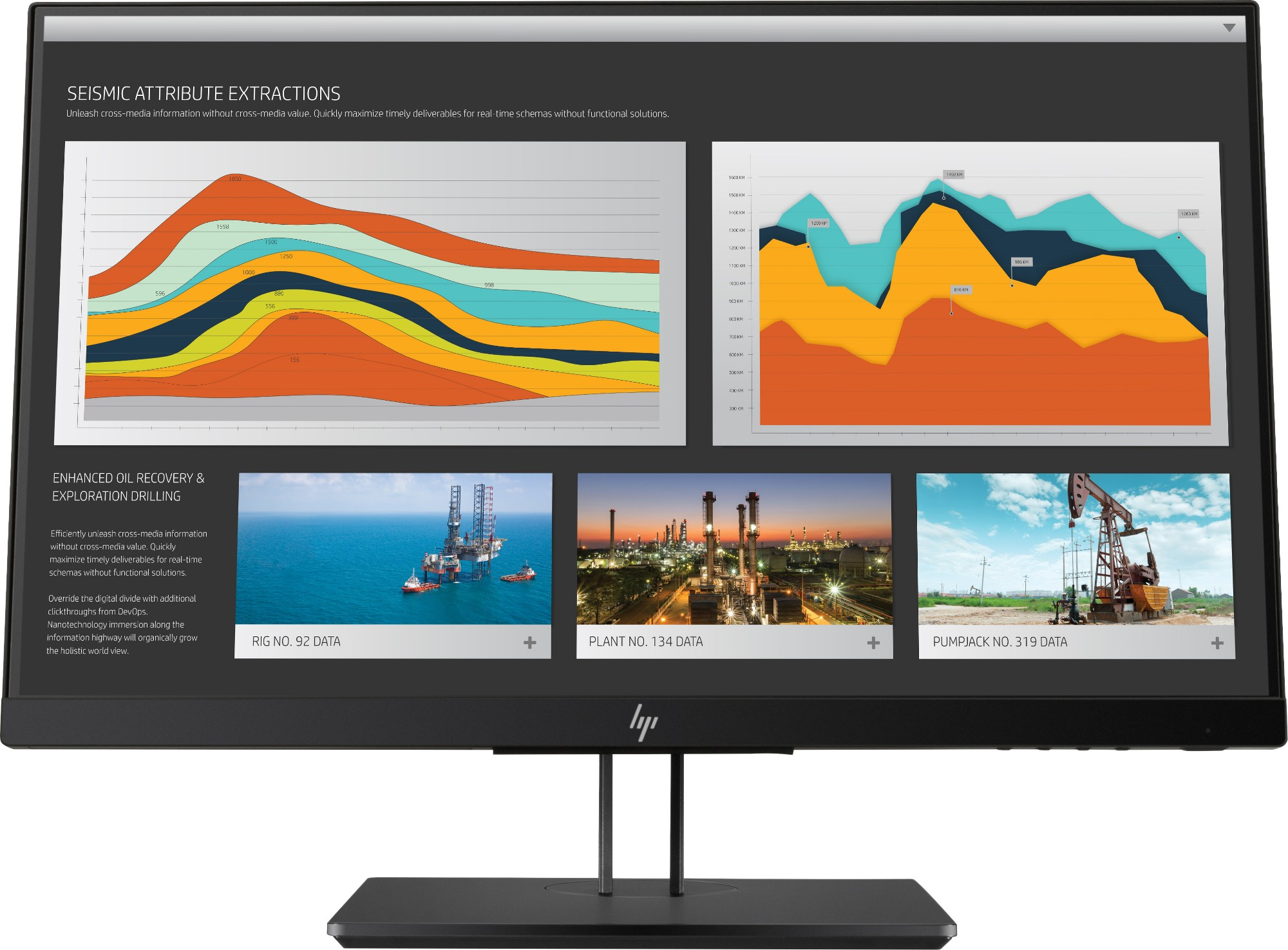 "HP Z22n G2 LED display 54.6 cm (21.5"") Full HD Flat Black"