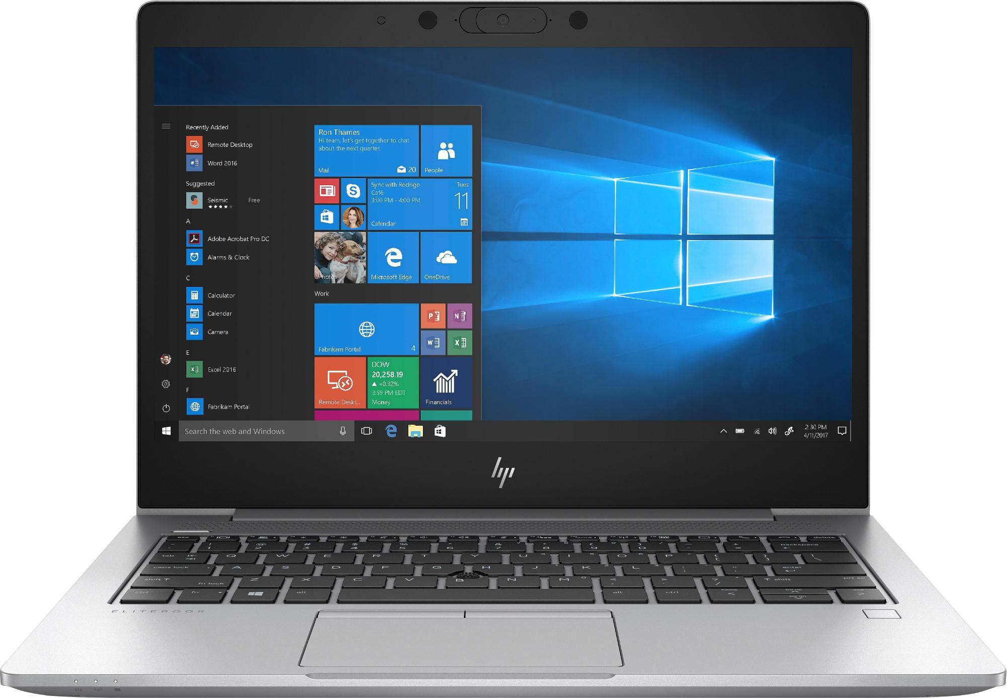 "HP EliteBook 830 G6 Zilver Notebook 33,8 cm (13.3"") 1920 x 1080 Pixels Intel® 8ste generatie Core™ i5 i5-8265U 8 GB DDR4-SDRAM 256 GB SSD 3G 4G"