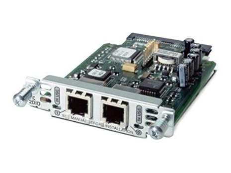 Two-Port Voice Interface Card- FXS and DID REMANUFACTURED