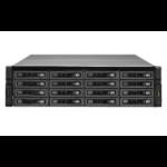 QNAP REXP-1620U-RP 160000GB Rack (3U) Black,Silver disk array