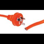 Altronics 25m 10A 3 Pin Orange Bare Ends Mains Lead