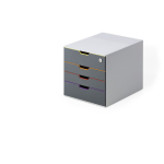Durable VARICOLOR Grey office drawer unit