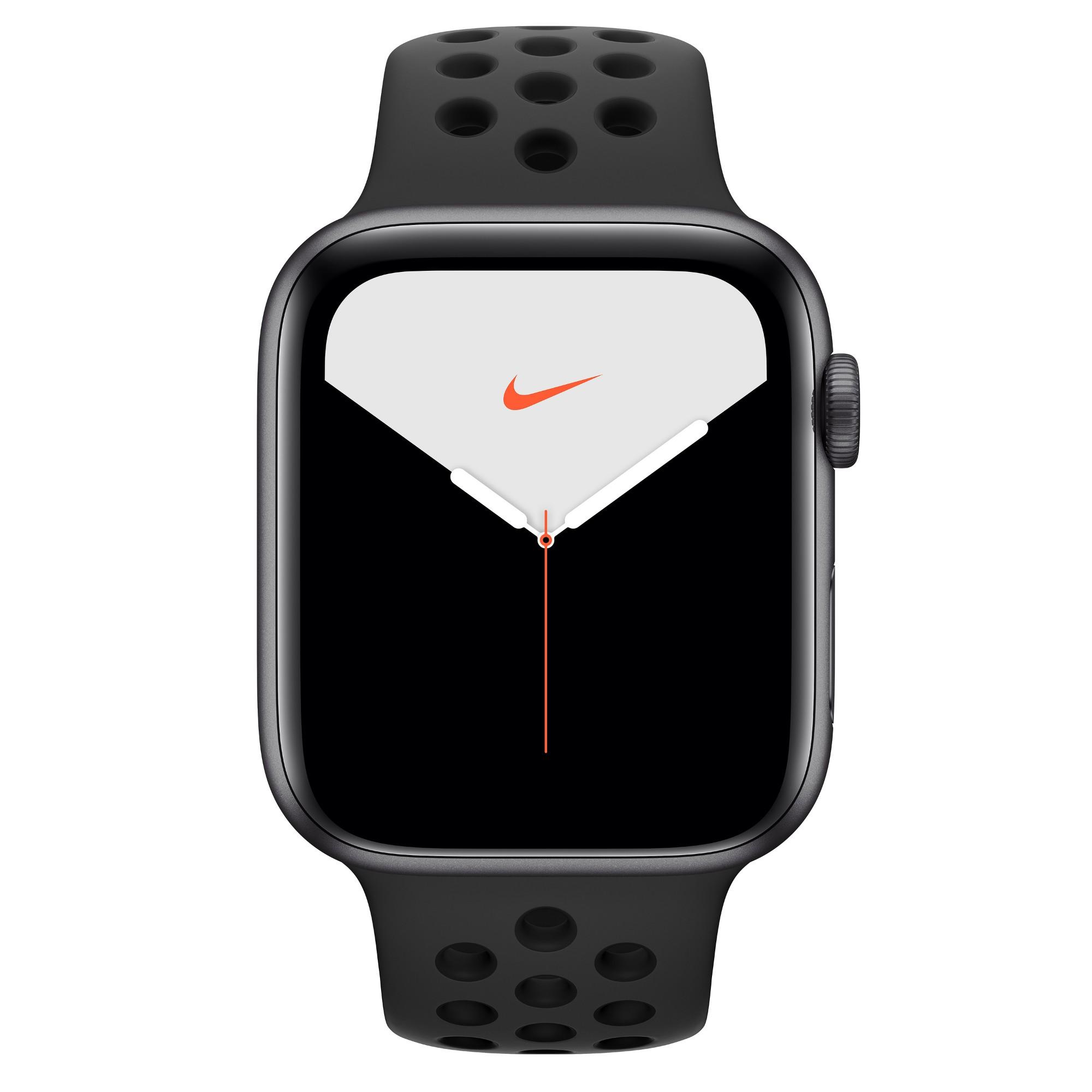 Apple Watch Nike Series 5 smartwatch Grey OLED Cellular GPS satellite