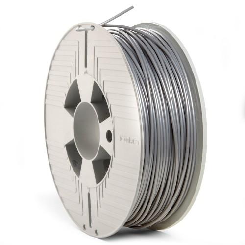 Verbatim 55329 3D printing material Polylactic acid (PLA) Silver 1 kg