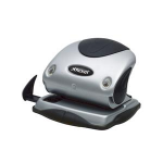 Rexel Precision 215 2 Hole Punch Silver/Black hole punch