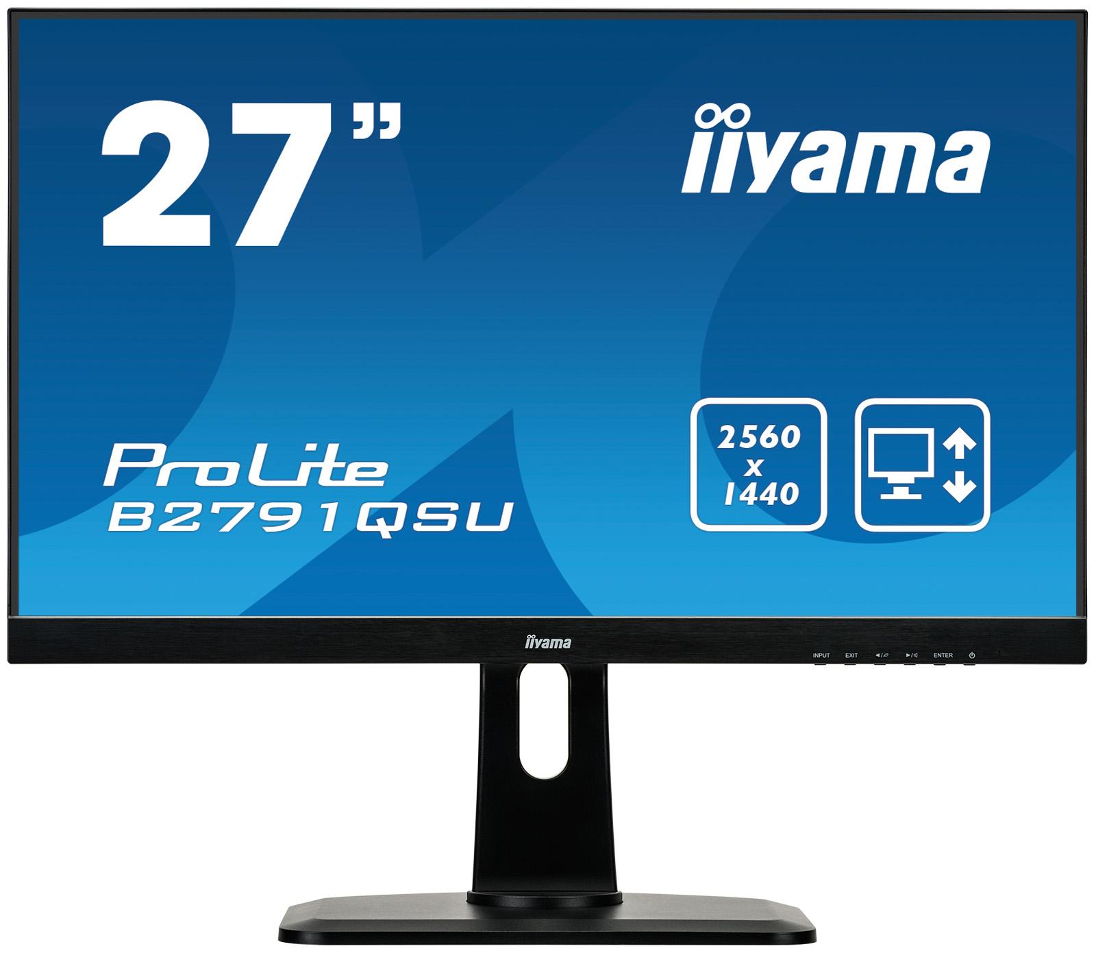 iiyama ProLite B2791QSU-B1 computer monitor 68.6 cm (27