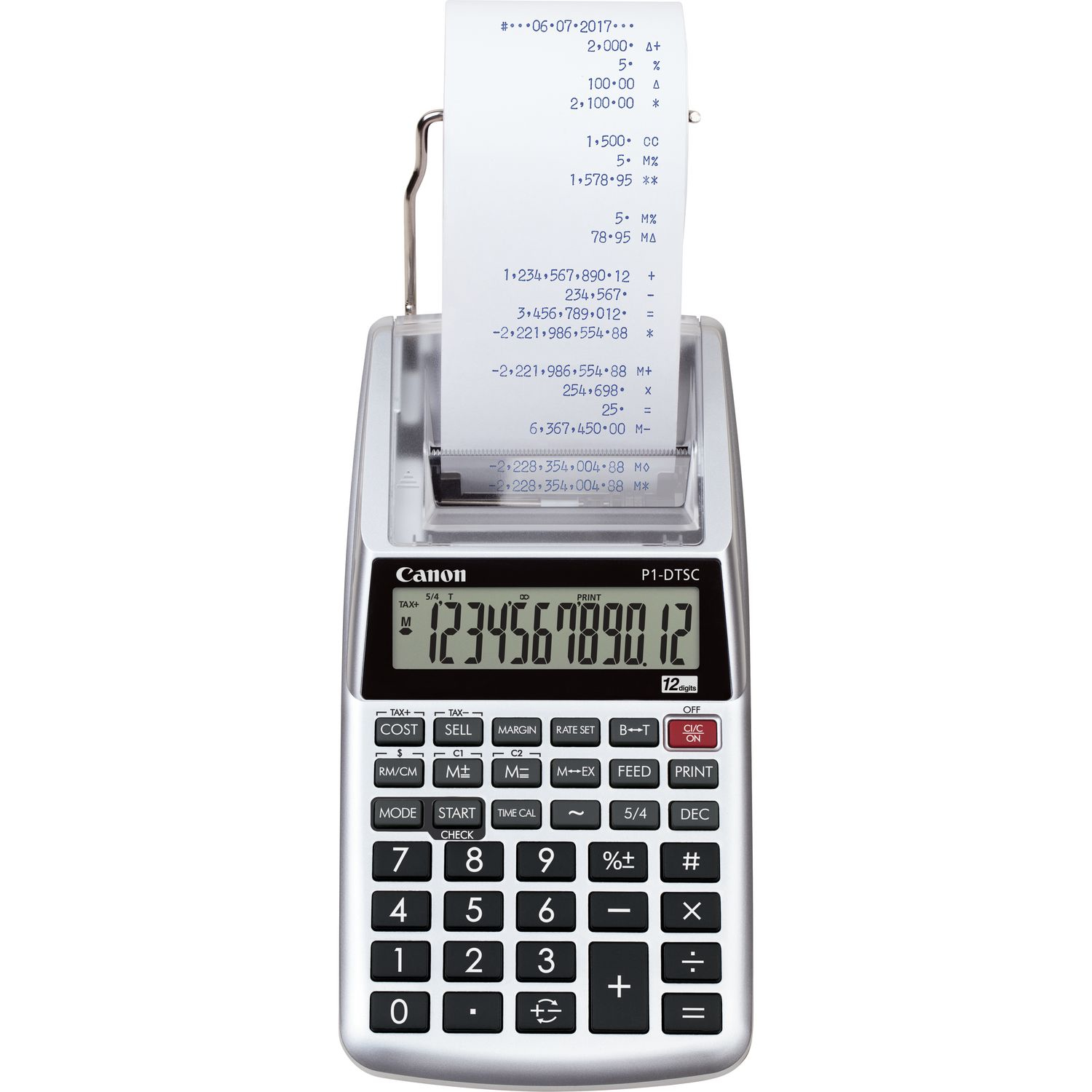 P1-dtsc Ii Emea Hwb Portable Printing Calculator