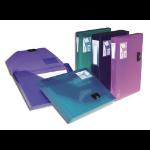 Snopake DocBox - Dark Blue, 25mm capacity A4