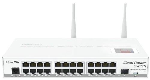 Mikrotik CRS125-24G-1S-2HND-IN wireless router Dual-band (2.4 GHz / 5 GHz) Gigabit Ethernet