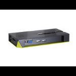 LevelOne LevelOne KVM-Switch 4 PC VGA+USB Black Edition