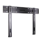 "Sanus Systems LL11 80"" Black flat panel wall mount"