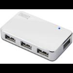 DIGITUS USB 2.0. 4-Port Hub white