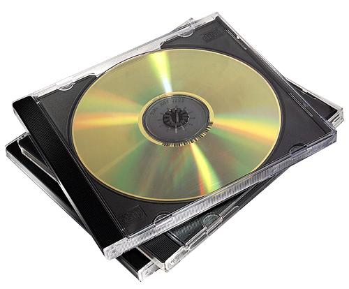 Fellowes 98310 optical disc case Jewel case 2 discs Black, Transparent
