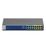 Netgear GS516UP Unmanaged Gigabit Ethernet (10/100/1000) Power over Ethernet (PoE) Grey