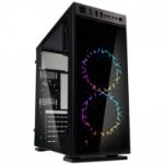 Kolink INSPIRE SERIES K1 RGB MIDI TOWER GAMING CASE - BLACK WINDOW