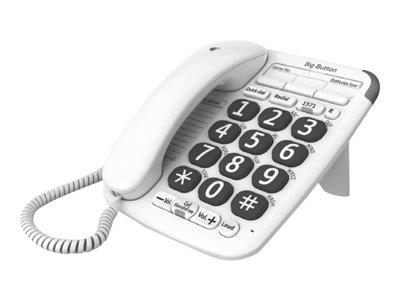 British Telecom Big Button 200 Analog telephone White