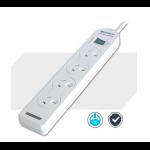 Generic Sansai 4-Way Power Board (131P) with Master Switch